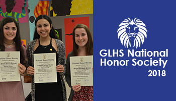 GLHS National Honor Society Induction