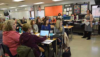 A Sneak Peek Inside Professional Development for Gahanna Teachers