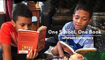 One School, One Book at Jefferson Elementary