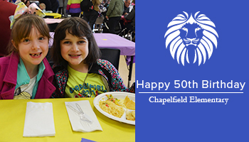Happy 50th Birthday Chapelfield