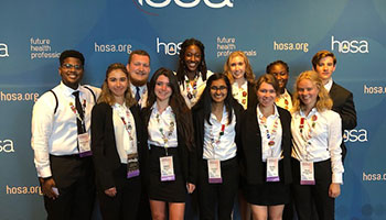 Bioscience Students Attend International Leadership Conference