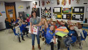 Blacklick Elementary Teacher Wins Award