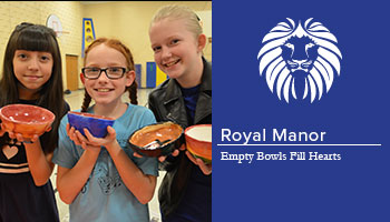 Empty Bowls Fill Hearts at Royal manor