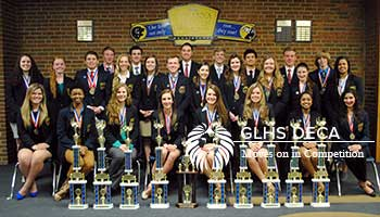 GLHS DECA Moves on in Competition