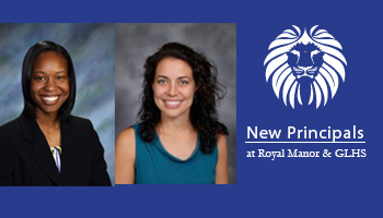 Principals named for GLHS and Royal Manor