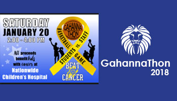 Changes for GahannaThon 2018