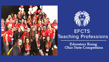 EFCTS Teaching Professions Bring Home Awards