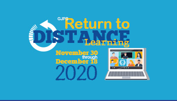 GJPS Returns to Full Distance Learning