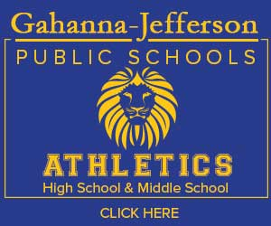 Button for GJPS Athletic website