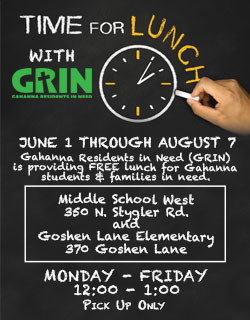 Image Link for GRIN Summer Lunch Program