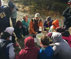 Royal Manor students participate in River Project