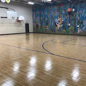 New GMSE Gym Floor