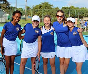 Middle School Girls Tennis