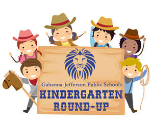 Kindergarten Roundup Graphic