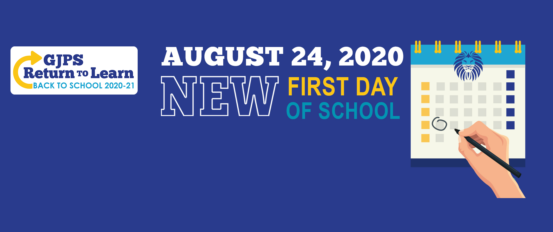 New Back to School Date August 24
